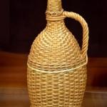 Балон оплетен са 2 литра ракије - Патријаршија