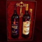 Комплет два вина, вадичеп и кутија - Патријаршијски подрум